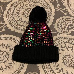 Colorful Sequin Winter Hat